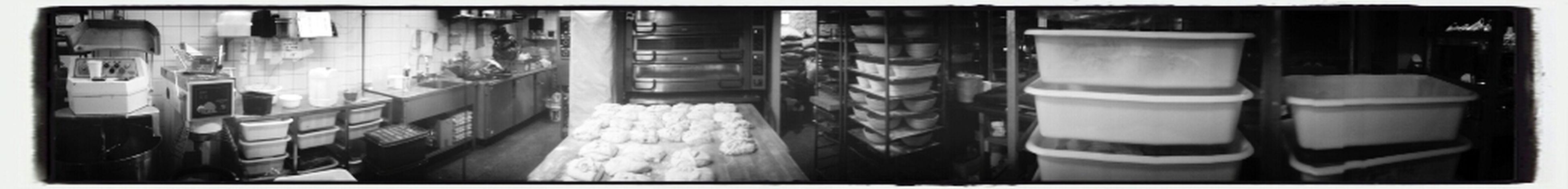 Min arbetsplats i panorama Bakery Bakerlife Sourdough Stoneoven