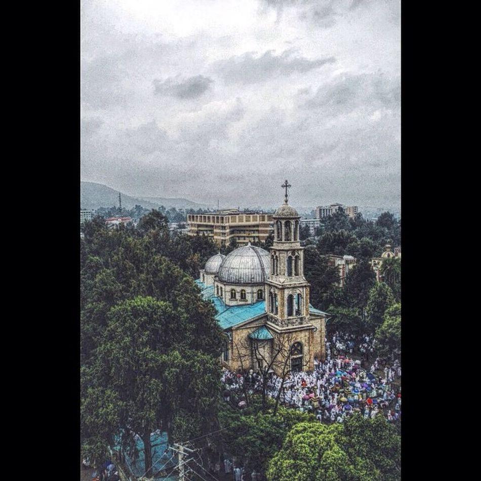 AddisPicOfTheDay KidestMariam Monastery 5killo Addis  Addisababa Ethiopia Ethiopian Africa Everydayafrica EthiopianOrthodox EthiopianOrthodoxTewahedoChurch ArealPhotography Churchphotography BirukGerbiPhotography