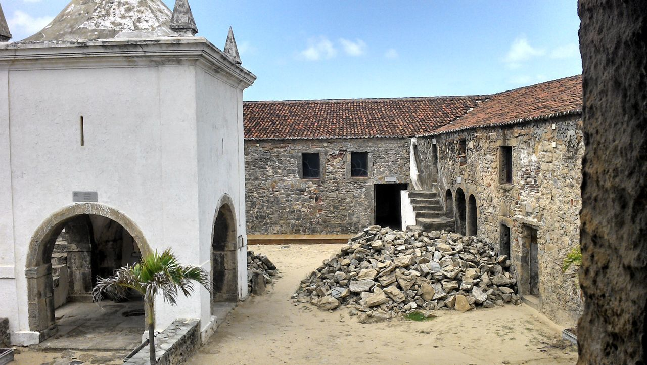 Forte dos 3 reis magos Architecture Building Exterior Built Structure Colors Day Fort Historic Historical Building History No People Outdoors Sky