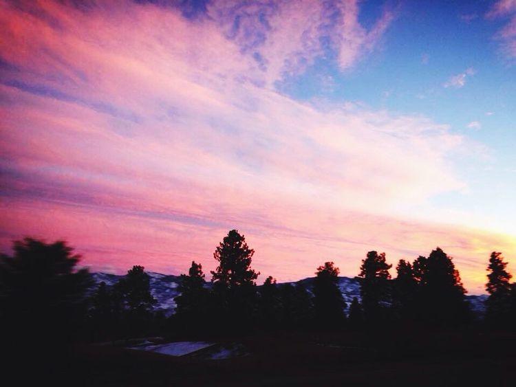 Gorgeous pink sunset, Kelowna, BC, Canada Canada Sunset Pink Sunset Pink Sky Okanagan Valley Kelowna,BC