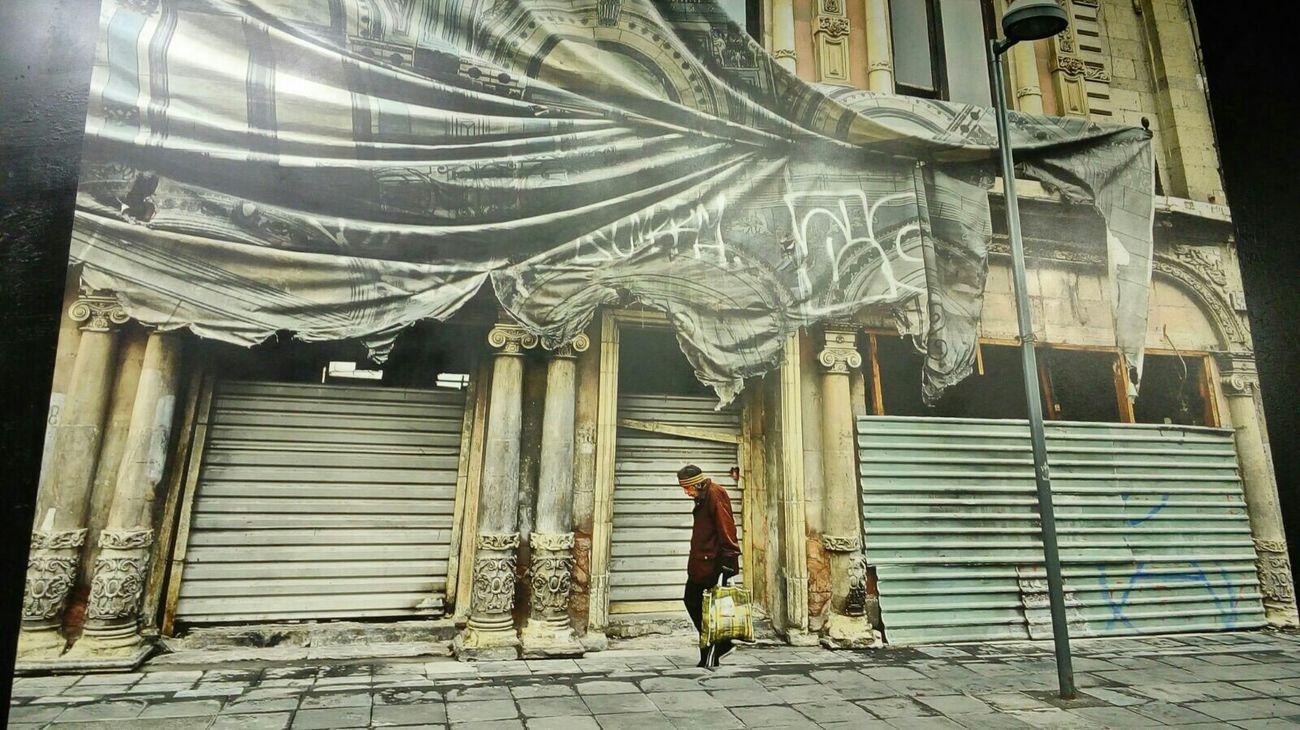 Hello World Dando El Rol Calles En Ruinas Mexico DF Old Street Zo Graffiti Zombra