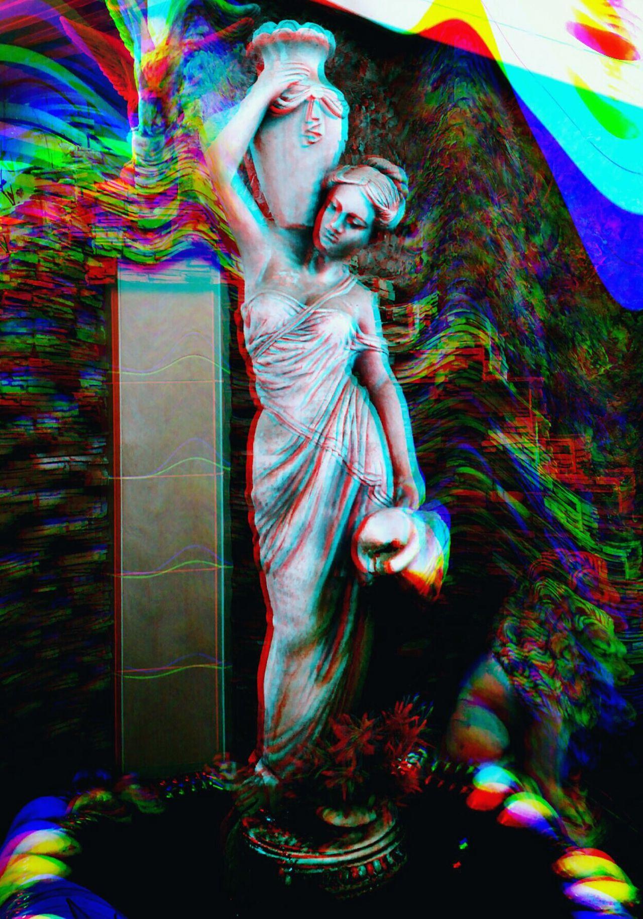 безумие  эстетика 3D Camly сдвиг