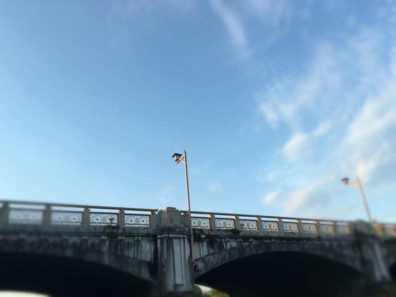Blue Bridge Kyoto City Kyoto Blue Sky Kyoto Sky