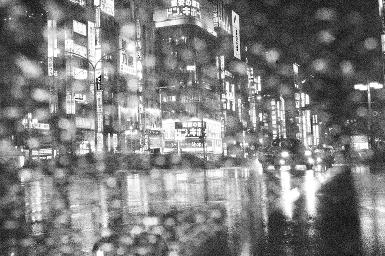 """Through The Rain"" by clickbychatchai all rights reserved City Clickbychatchai Cool Emotional Light Night Rain Shinjuku SP Streetphotothailand The Street Photographer - 2017 EyeEm Awards Through The Rain Tokyo"