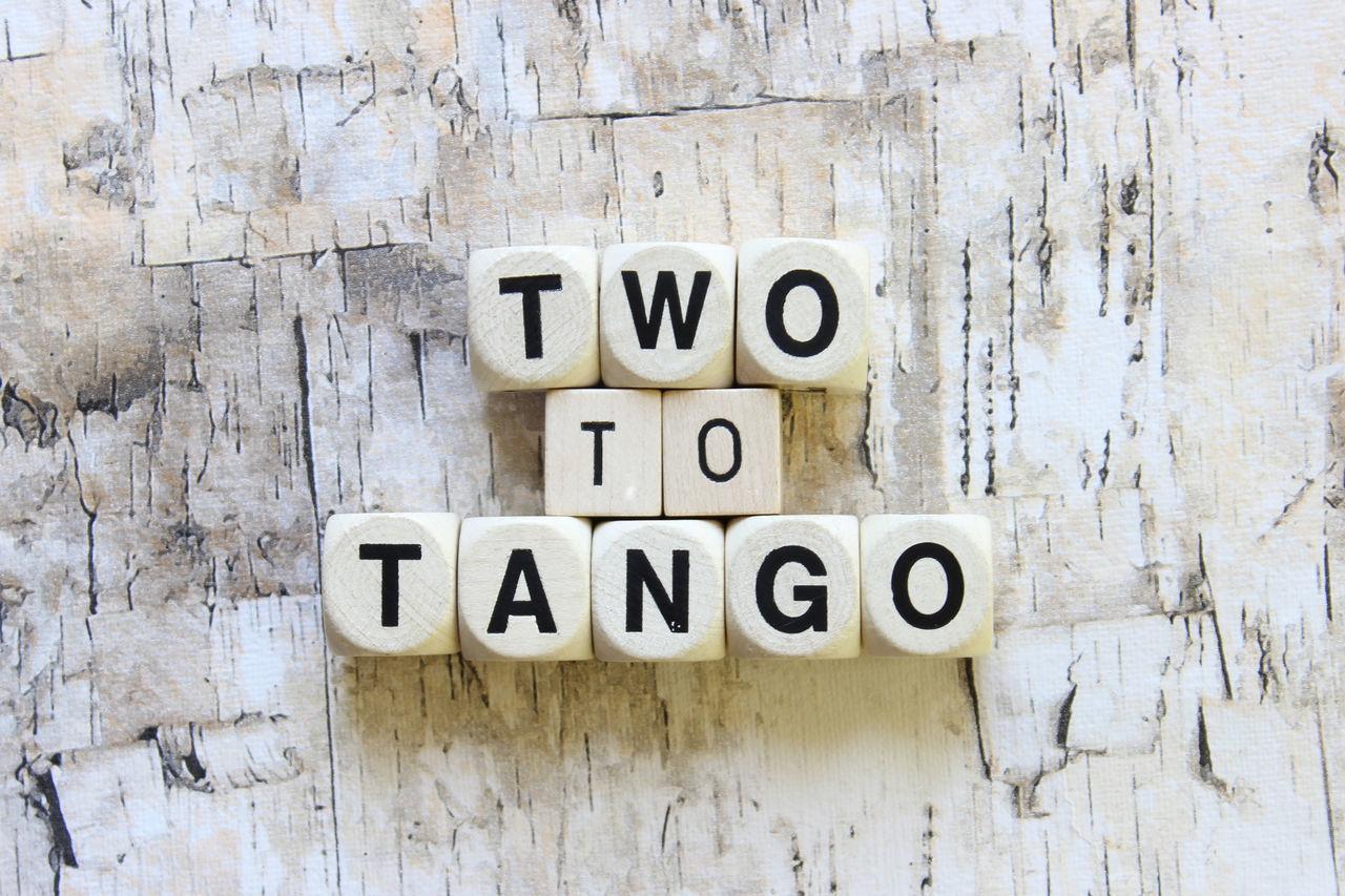 Two to tango Blame Fight Idiom Pair Phrases Share Tea Two To Tangle Two To Tango