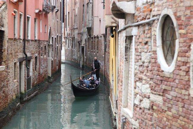 Architecture Building Built Structure Calle Canal City City Life Day Gondola Land Vehicle Lifestyles Mode Of Transport Outdoors Parked Parking Showcase July Sky Stationary Travel Destinations Venezia Venice, Italy