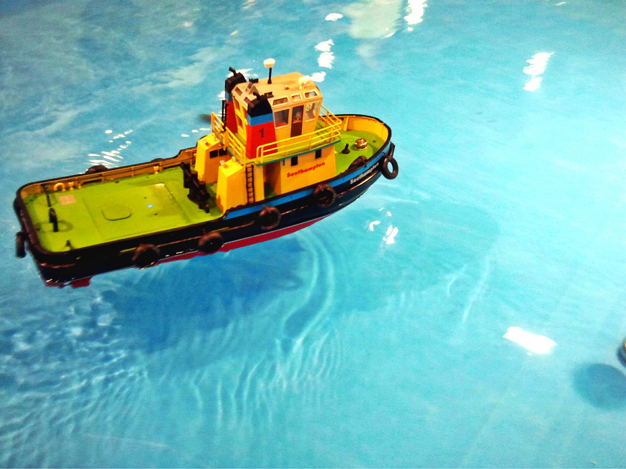 Boat Boat Models Floating On Water High Angle View Nautical Vessel Radio Controlled RC Rc Boat Ship Ship Model Transportation Water Waterfront