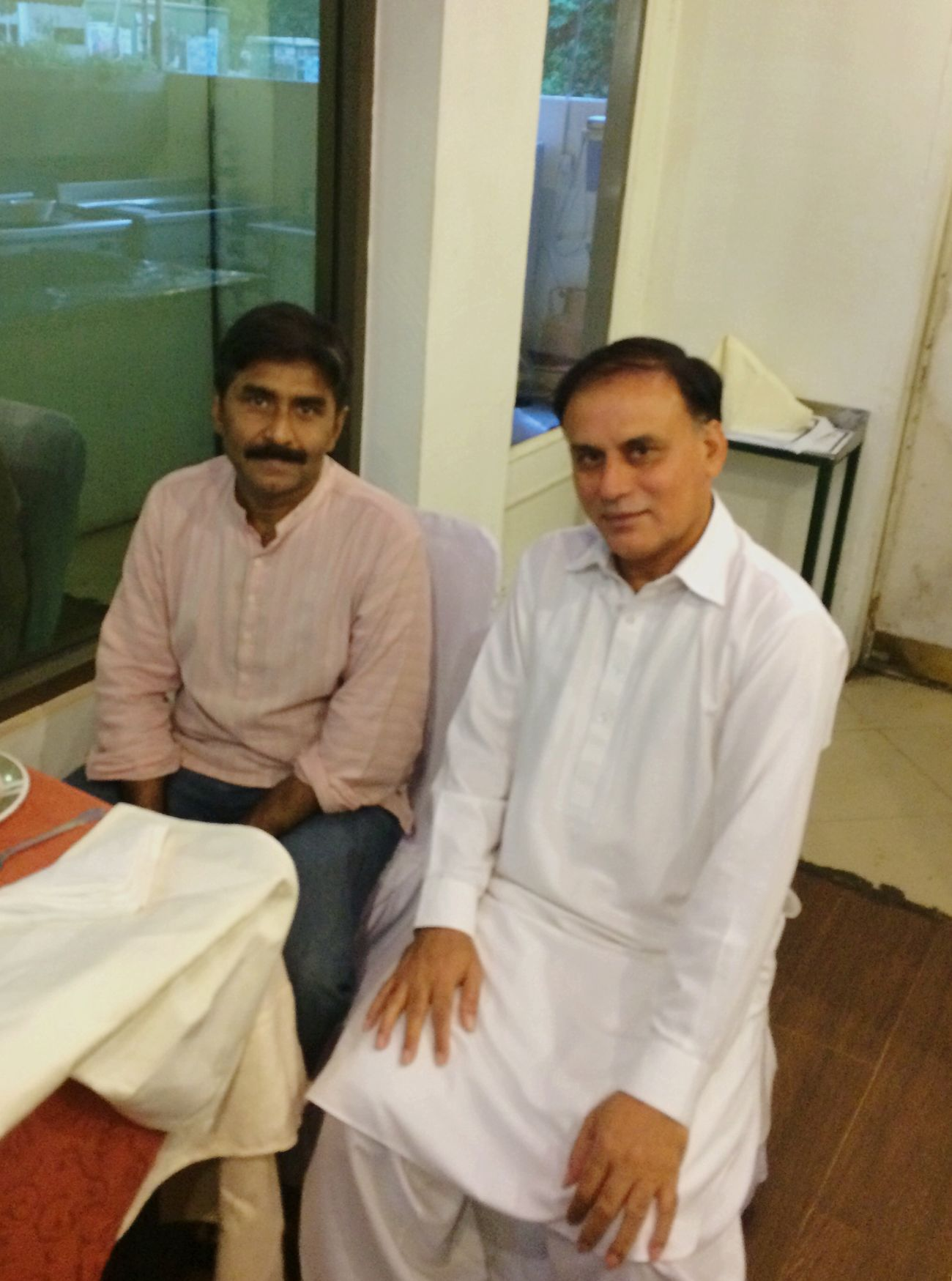 Iftar with legendary Cricketer JavedMiandad
