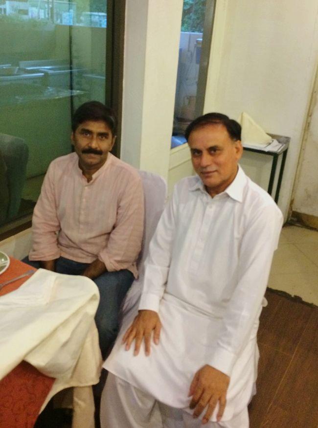 Iftar with legendary Cricketer JavedMiandad