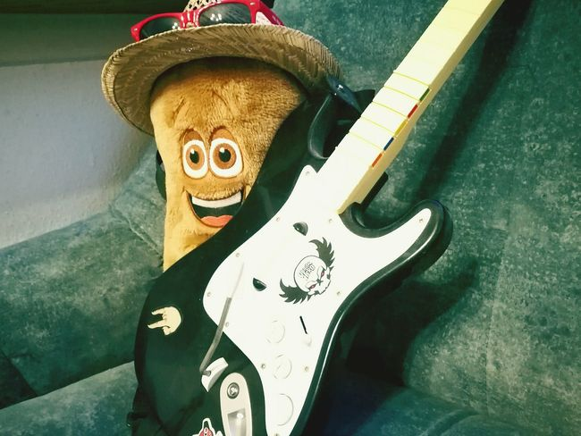 Music Brings Us Together Guitar Guitarhero Happiness Toy Toystory Vacation Chilling Newrecord