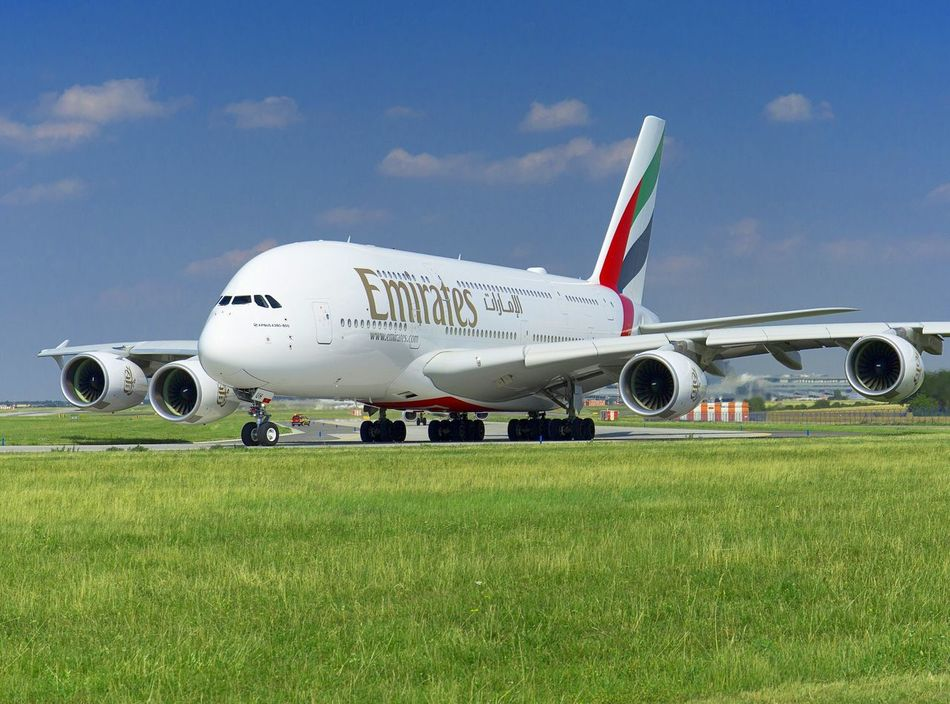Emirates A380 A380 Emirates A380-800 Airbus Airbus A380 Prague Airport Prague Prague Czech Republic Czech Republic Runway Engines Travel Passenger Holiday Transportation Wind Speed Air Vehicle Airport Runway Commercial Airplane Sky Airplane Aircraft Wing Airport