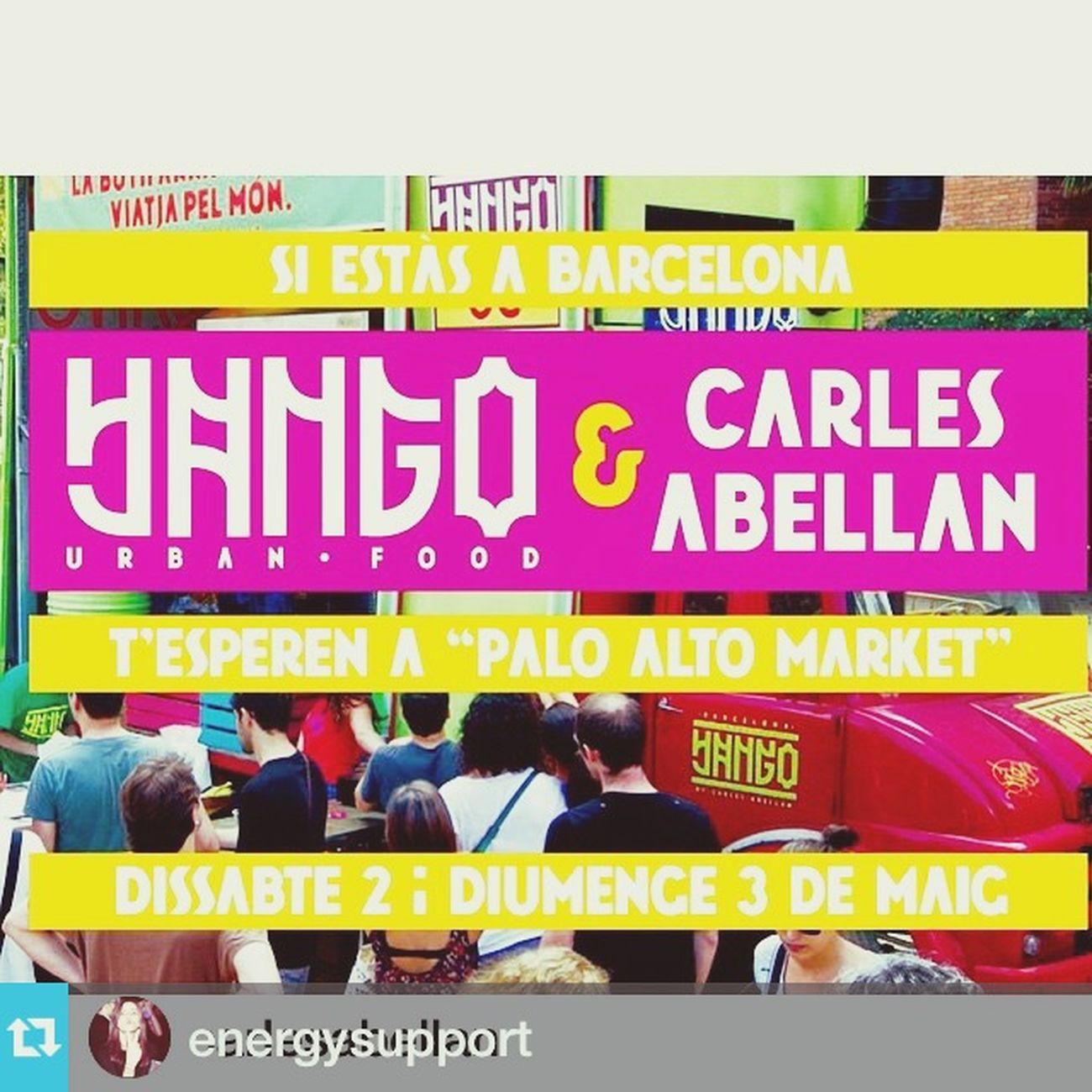 #Repost @energysupport with @repostapp.・・・#Repost @carlesabellan with @repostapp.・・・Recordatori!!!!!! 🍻 😋😉 Mañana a #yangear #yangourbanfood #urban #food #Restaurant #foodtruck #paloaltomarket @paloaltomarket Ahí estaremos 🎉☀️ @carlesabellan #CarlesAbellan #tonimorago @yangourbanfood 👏🏻👏🏻👏🏻 #sandraenergysupport ¿¿ @jepi_matamala 📌📝📲⁉️ Recordar que este mes Palo Alto Market tendrá una segunda edición también 👍🏻 Los días 23 y 24 #mayo 🔝 #streetfood #streetmarket #Barcelona #Catalonia Foodtruck Foodporn Instafood Urbanfood Carles Abellan Street Market Paloaltomarket Sandraenergysupport