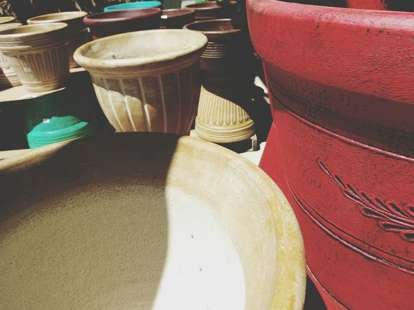 Pots Pottery Art Pottery Pieces No People Multi Colored
