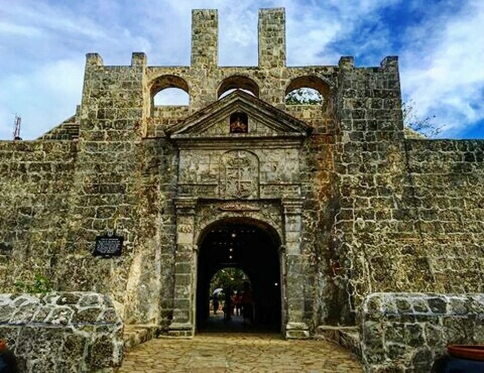 Historic for a day. Traffic, busy, crowded place the next 12345678978484 days. Heritage Ancient Architecture Fort San Pedro