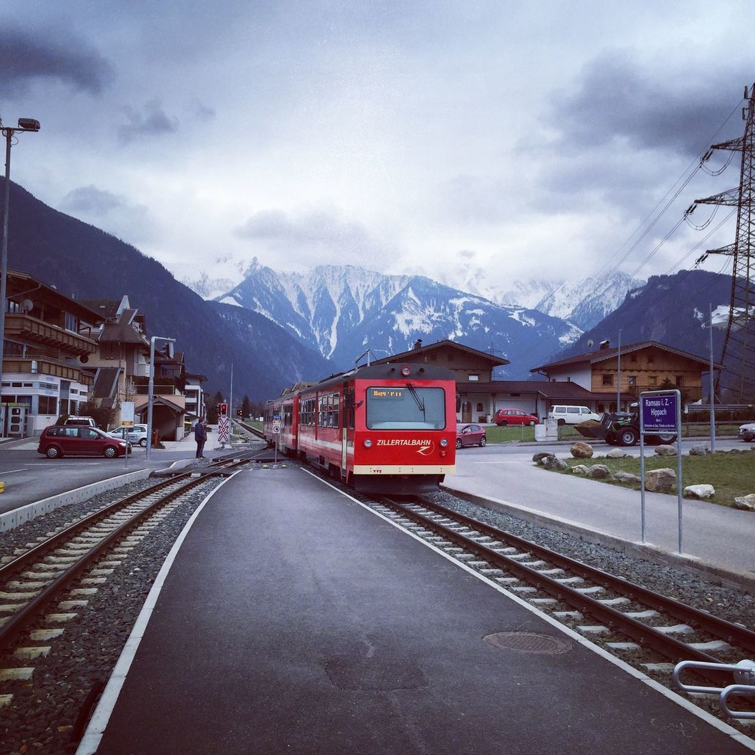 Train Scenery Scenics Tranquil Scene Traveling Tranquility Transportation Relaxation Sky Nature Beauty In Nature Day Landscape Idyllic Outdoors Remote Austria Hippach Ramsau