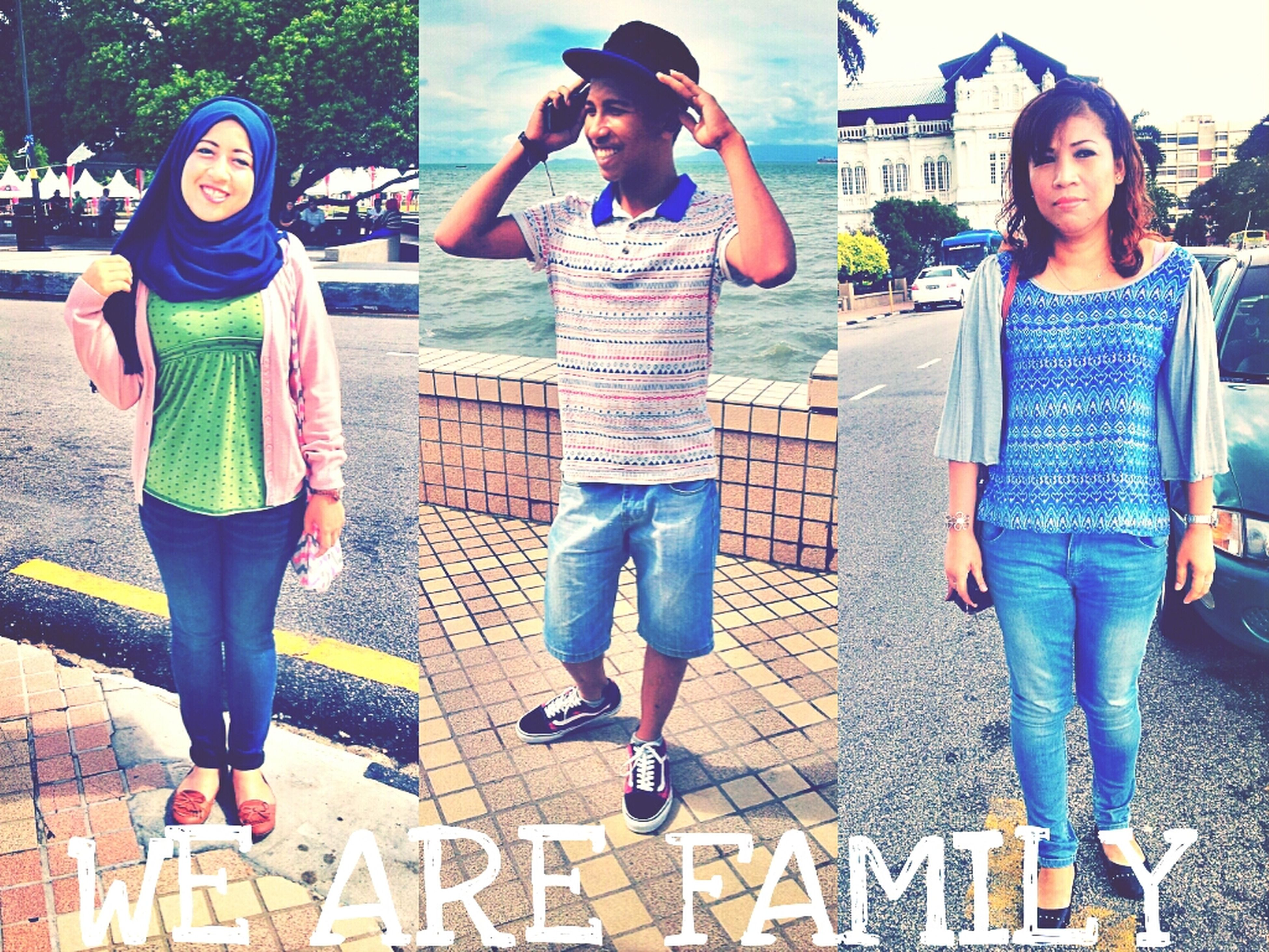Spending My Time With Le Family:*