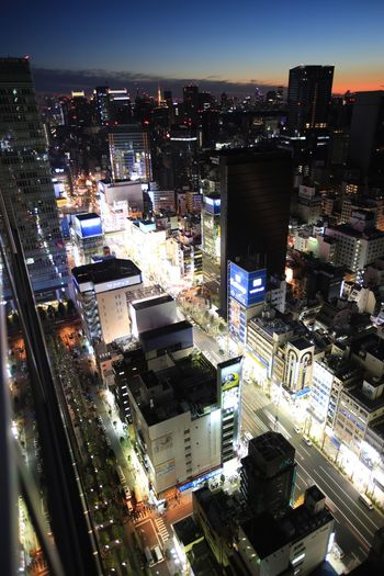 """View from """"The Otaking"""" at Akihabara Tokyo Times Tower Penthouse ."""