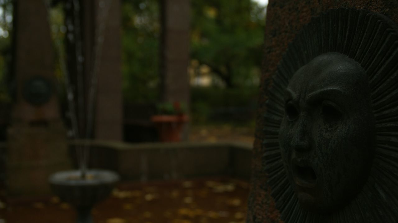 Graveyard Relief Detail. Close-up SONY Alpha350 Sony A350 Decoration Sculpture Face Stone Textures And Surfaces Texture Twilight Focus Focus Object Cemetery