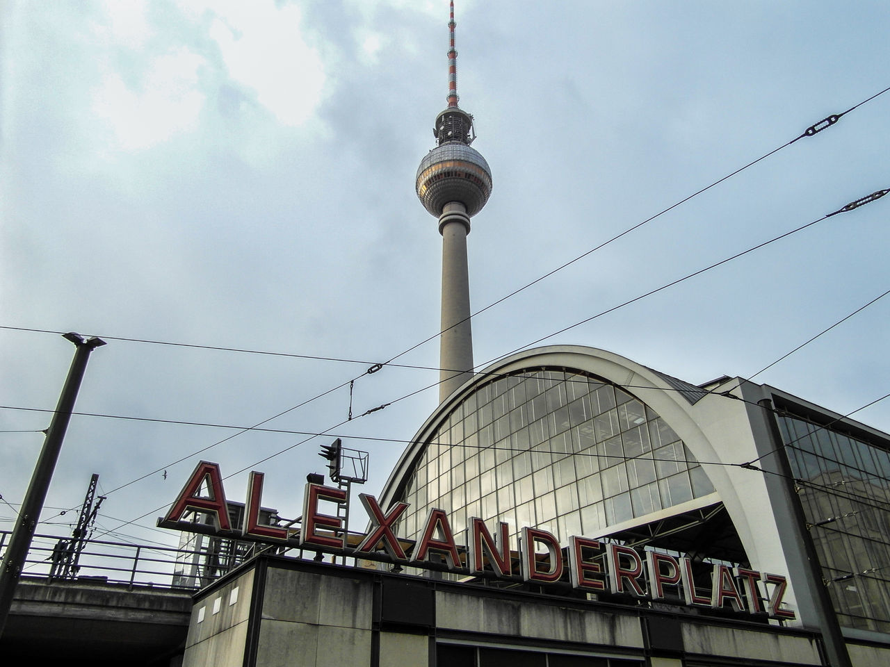 Alexanderplatz Architecture Berlin Berlin Photography Building Exterior Built Structure Capital Cities  City Cloud - Sky Day Dome Germany Low Angle View No People Outdoors Sky Station Tourism Tower Travel Travel Destinations TV Tower