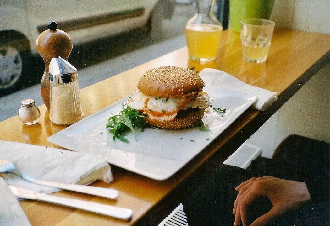Breakfast Burger The Street Photographer - 2016 EyeEm Awards Contaxt2 Analog The Portraitist - 2016 EyeEm Awards Food Portrait Welove Food And Drink Vienna