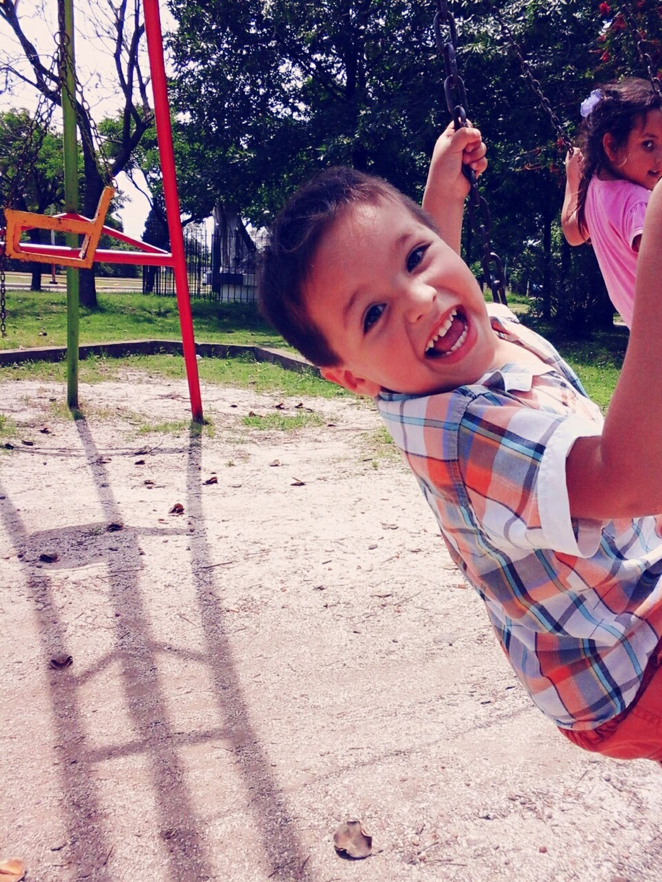happiness (felicidad) Smiling :) Playing Niño Squarepic Aire Libre Buenos Aires, Argentina