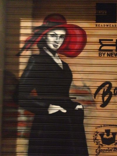 1940s Barcelona Beautiful Woman Graffi Big Red Hat Graffiti Graffiti Art Graffitiporn Grafiti Grafitti Great Graffitti Hat Night One Person Painted Grafiti Painted Womens Red Single Woman Streetphotography Warm Warm Colors Woman Woman In Hat