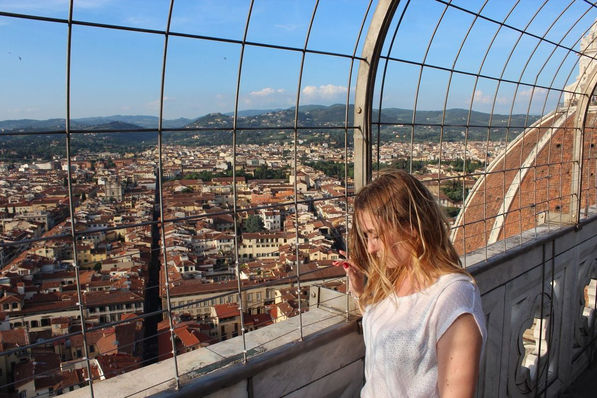 Onthetopoftheworld Florence Campaniledigiotto Summer Views Buildings Freedom Goodlife Lifeisanadventure Be. Ready. Exploring Turistic Places Duomo Di Firenze Step It Up