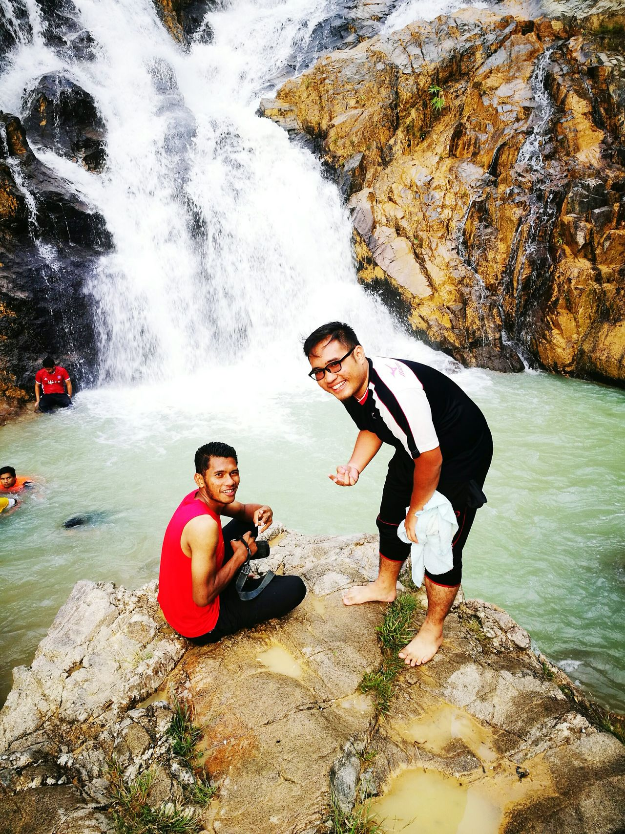 Whatt a nice view water fall. No need go far just in Malaysian..