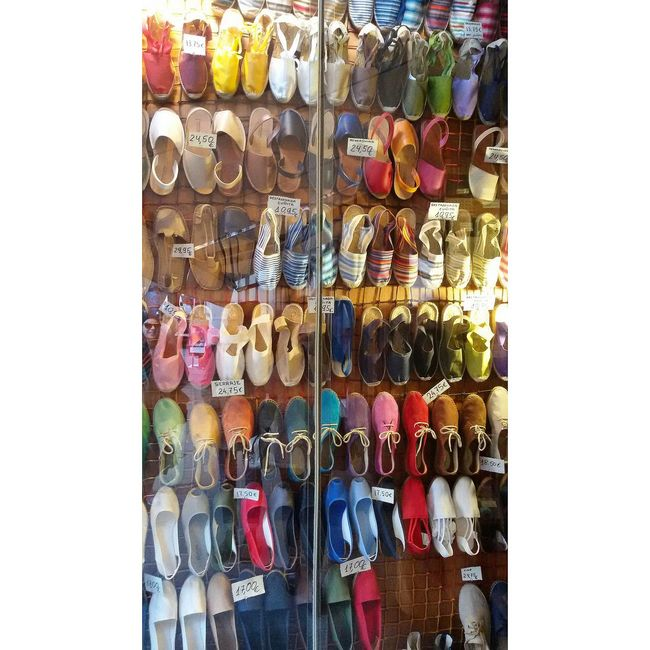 Shoes Colors Shopping Market Multicolors  Street Taking Photos Espadrillas Things Organized Neatly