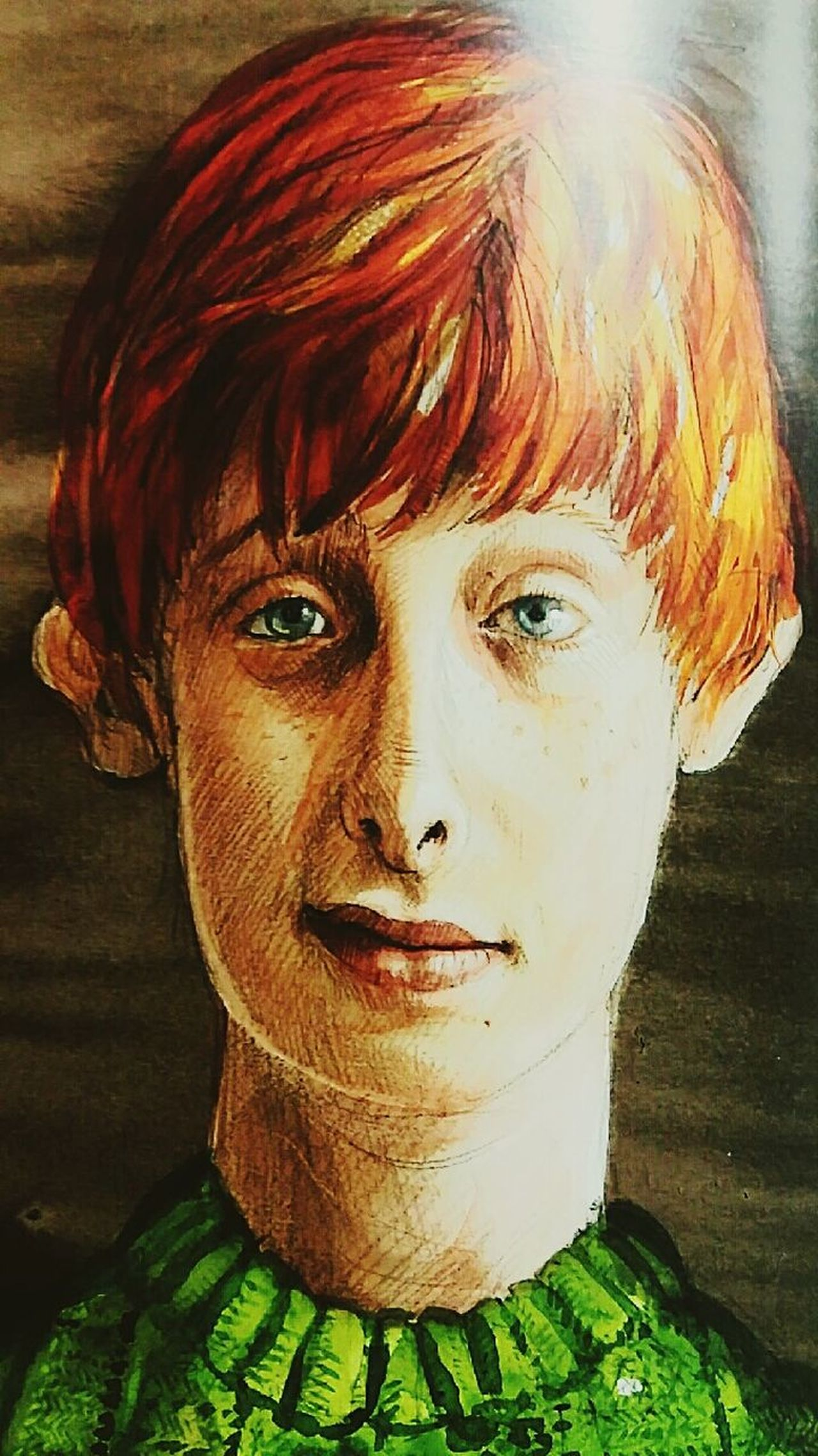 J.k. Rowling Harry Potter HP People Portrait Young Adult Redhead One Person Looking At Camera Philosophical Stone Book Ronnie Harry Potter ⚡ Harry Potter ❤ Books ♥