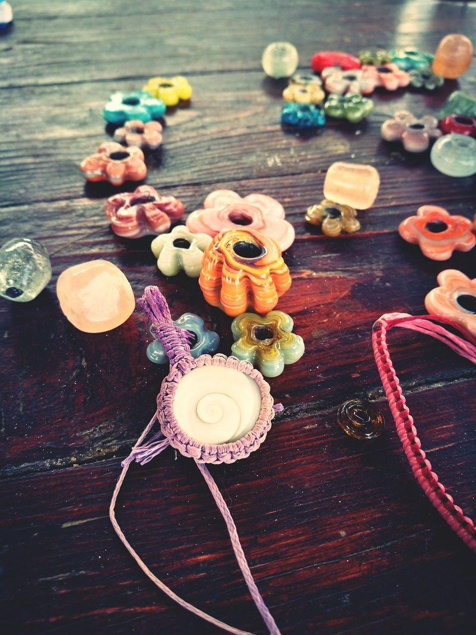 ArtWork Crafts Playing Macrame Beads Weaving