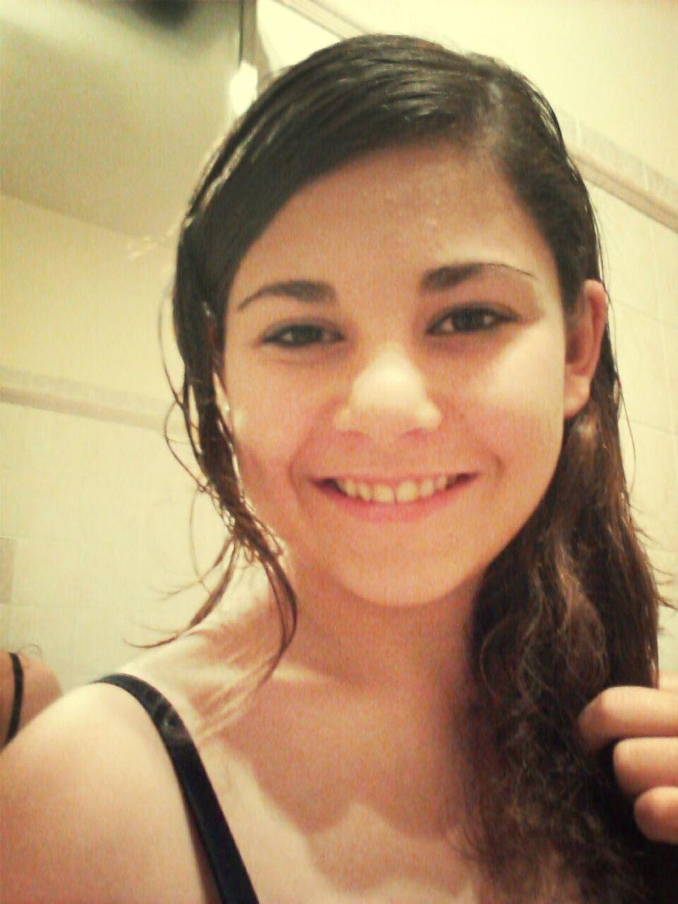 acqua e sapone :) appena uscita dalla doccia :)