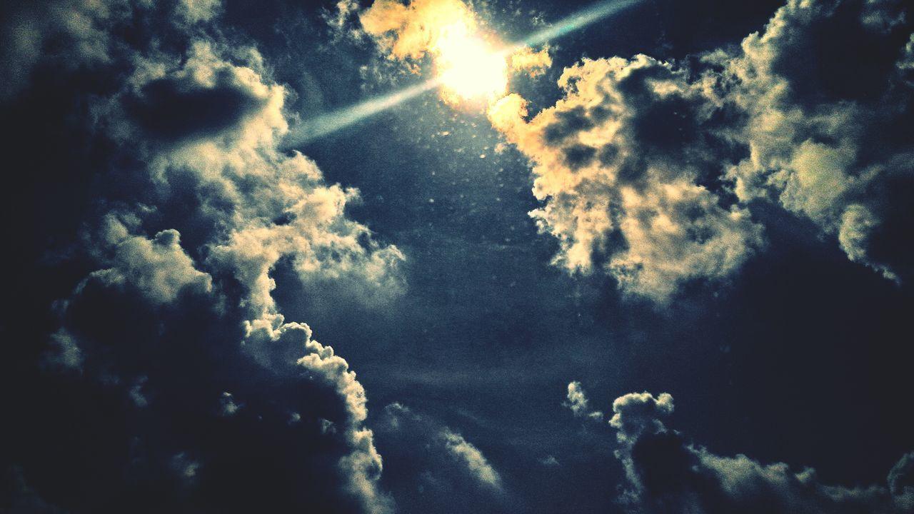 Lemon By Motorola Sky Lemon Cloud Sky Sun