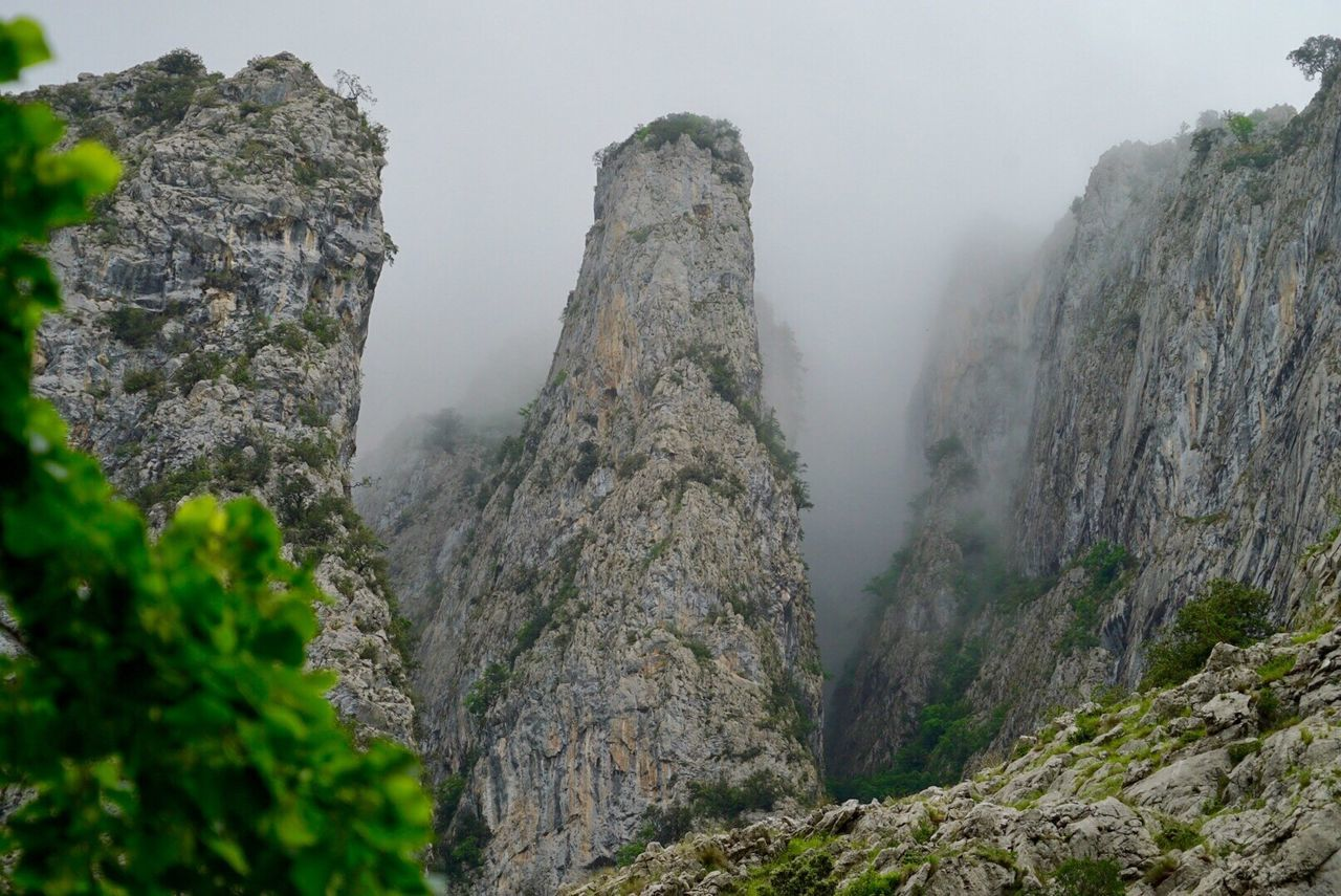 Picos De Europa Mountains Hiking Clouds SPAIN only very Differently Holidays