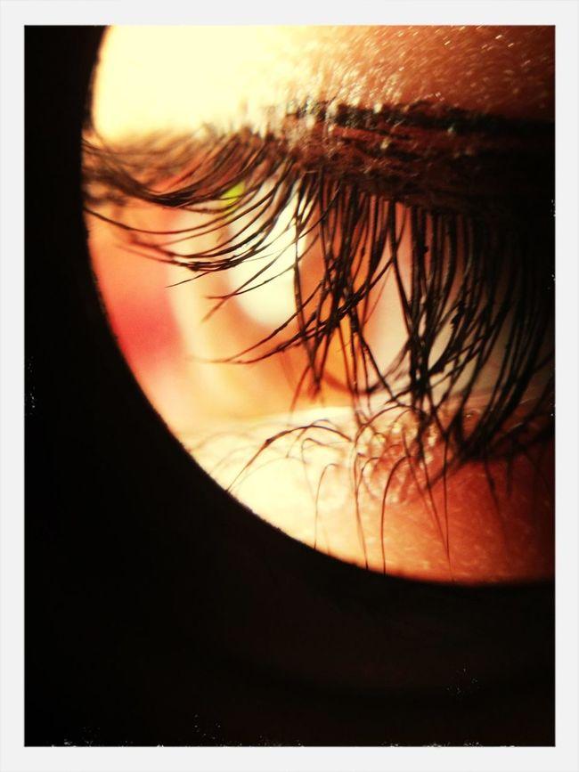 sisters eye.