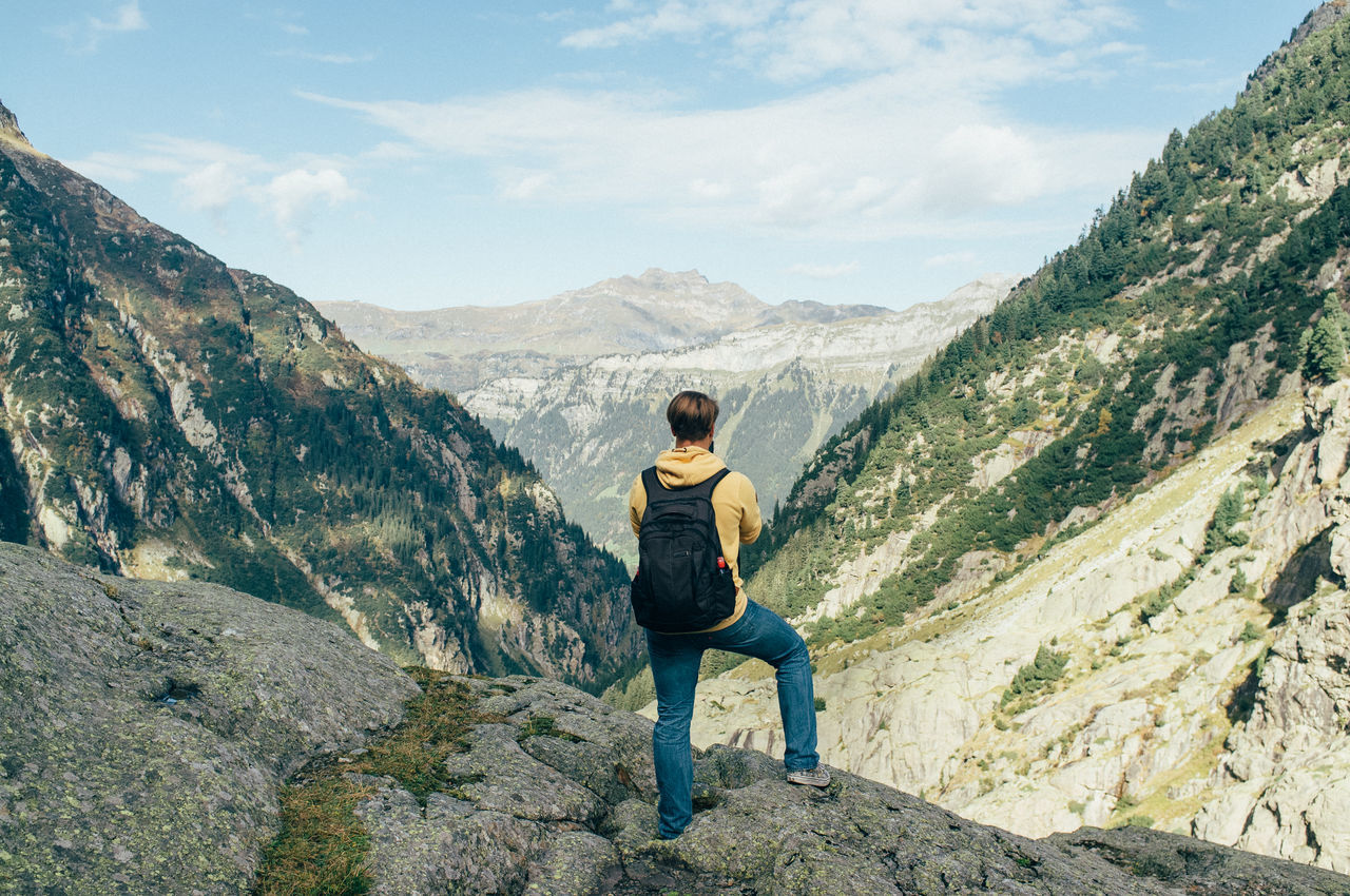 Beautiful stock photos of alaska, At The Edge Of, Backpack, Day, Full Length
