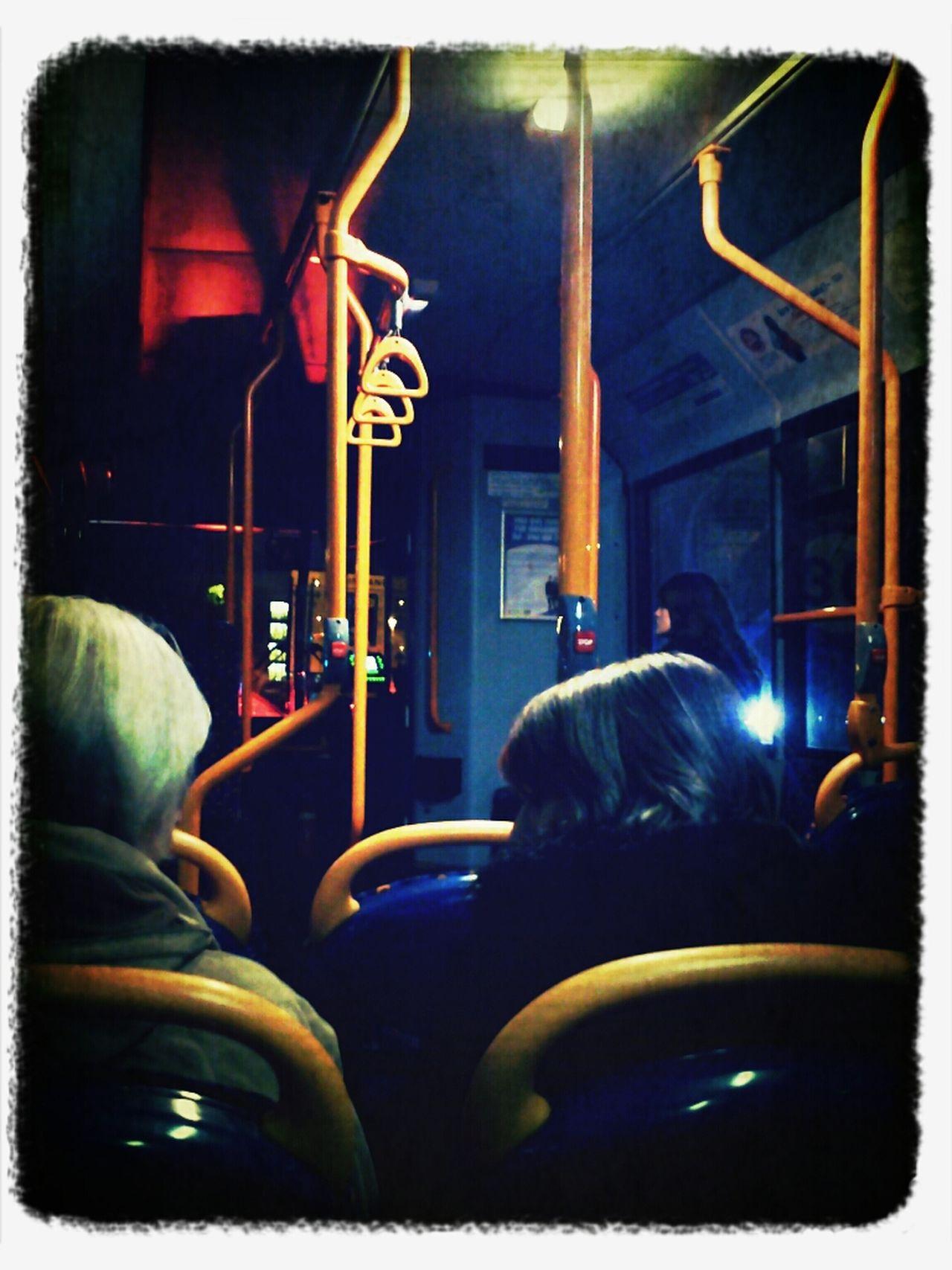 Winter Bus Ride