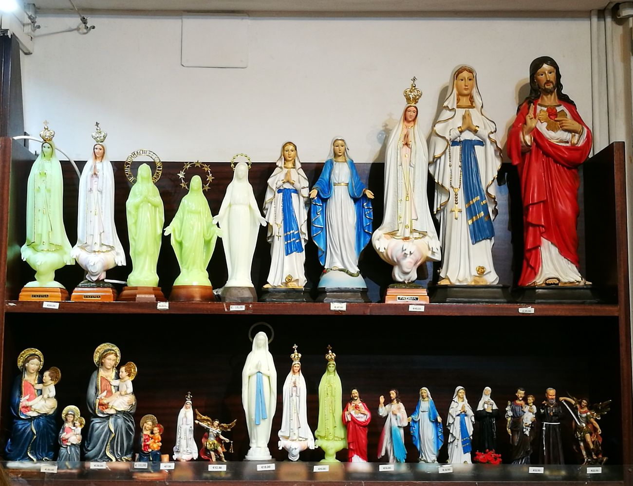 Large Group Of Objects Store Statue Religion And Tradition Religious Images No People Shelf