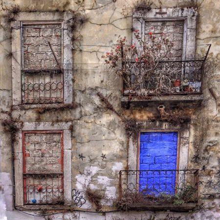 Lisbon Blue Window Streetphotography Perfect Imperfection