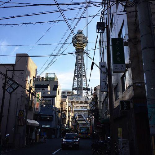 OSAKA 通天閣 新世界 Tsutenkaku