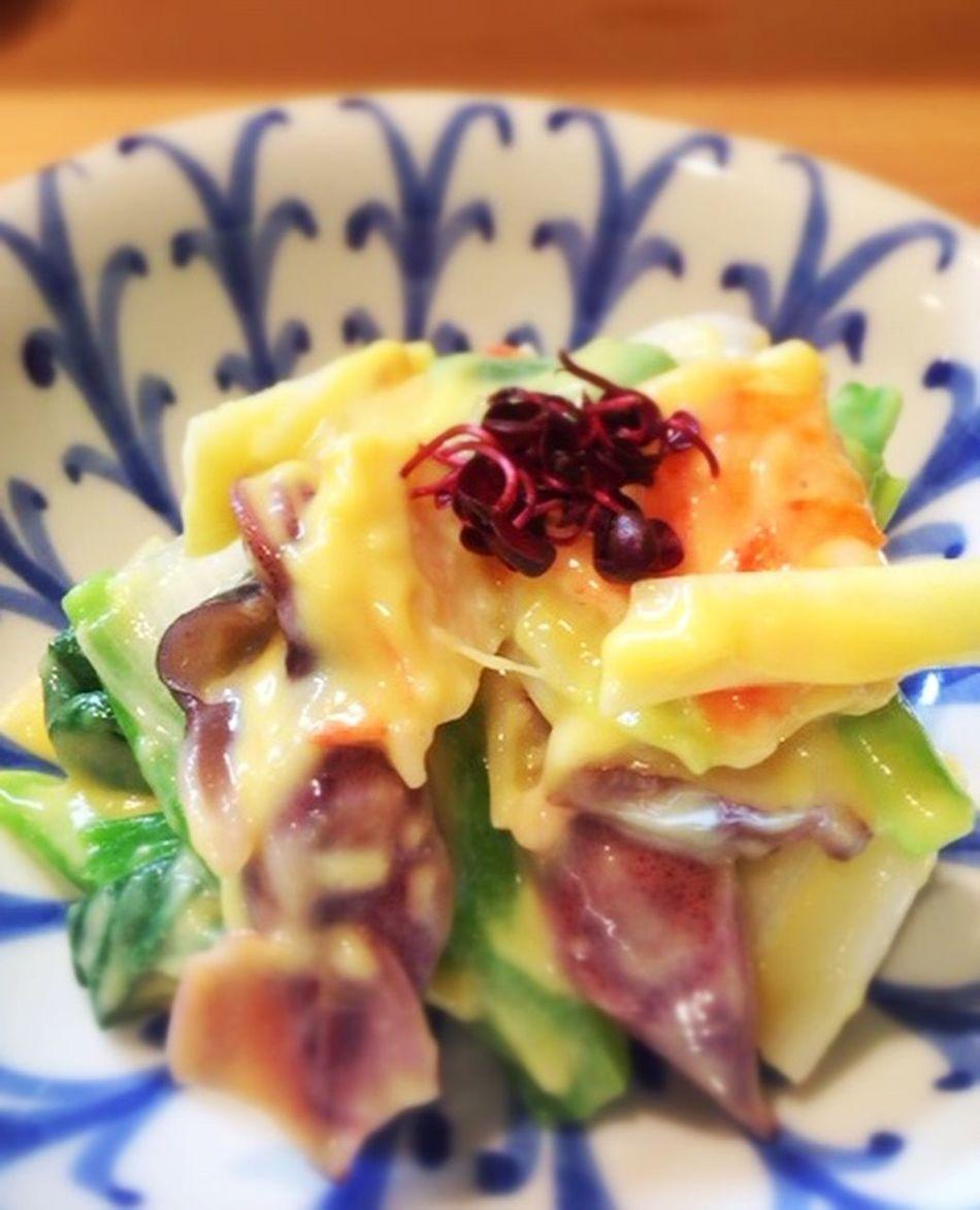 今日じゃないけどね〜お寿司屋さんのてっぱい、見た目も味も最高でした(*^^*) てっぱい Japanese Food Dinner Seafood ぬた