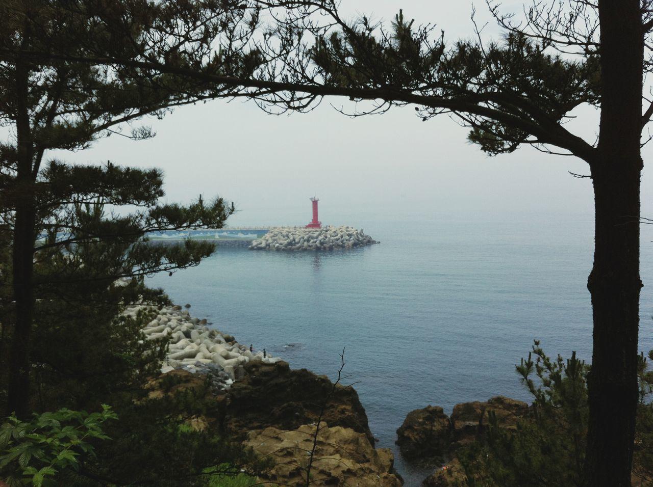 Jeju Island, Korea Ocean View Lighthouse