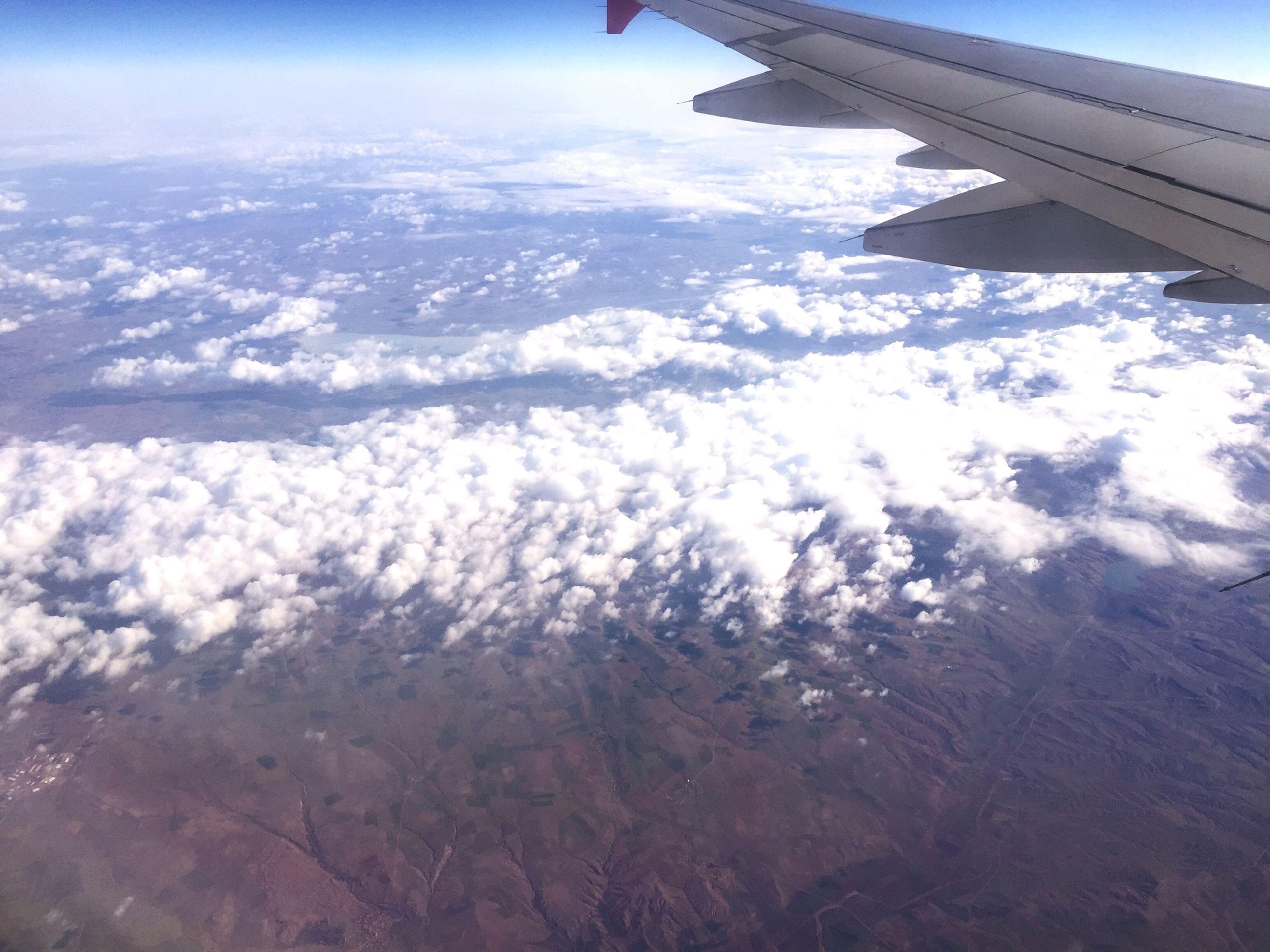 Bulutlar Gökyüzümavi Ucaktanbakis Ucak First Eyeem Photo