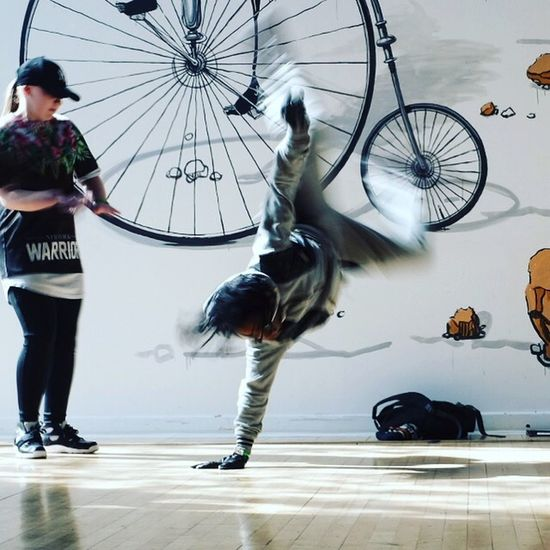 Modern X100t London Urban Dancing Breakdancing Break Dancer Movement Action Shot  Motion Blur
