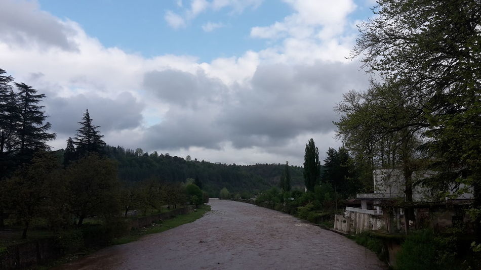 Beauty In Nature Showcase: April Evening Sky Mobile Photography Bad Weather Rainy Day After Rain Riverside Tsalenjikha Tchanistskali