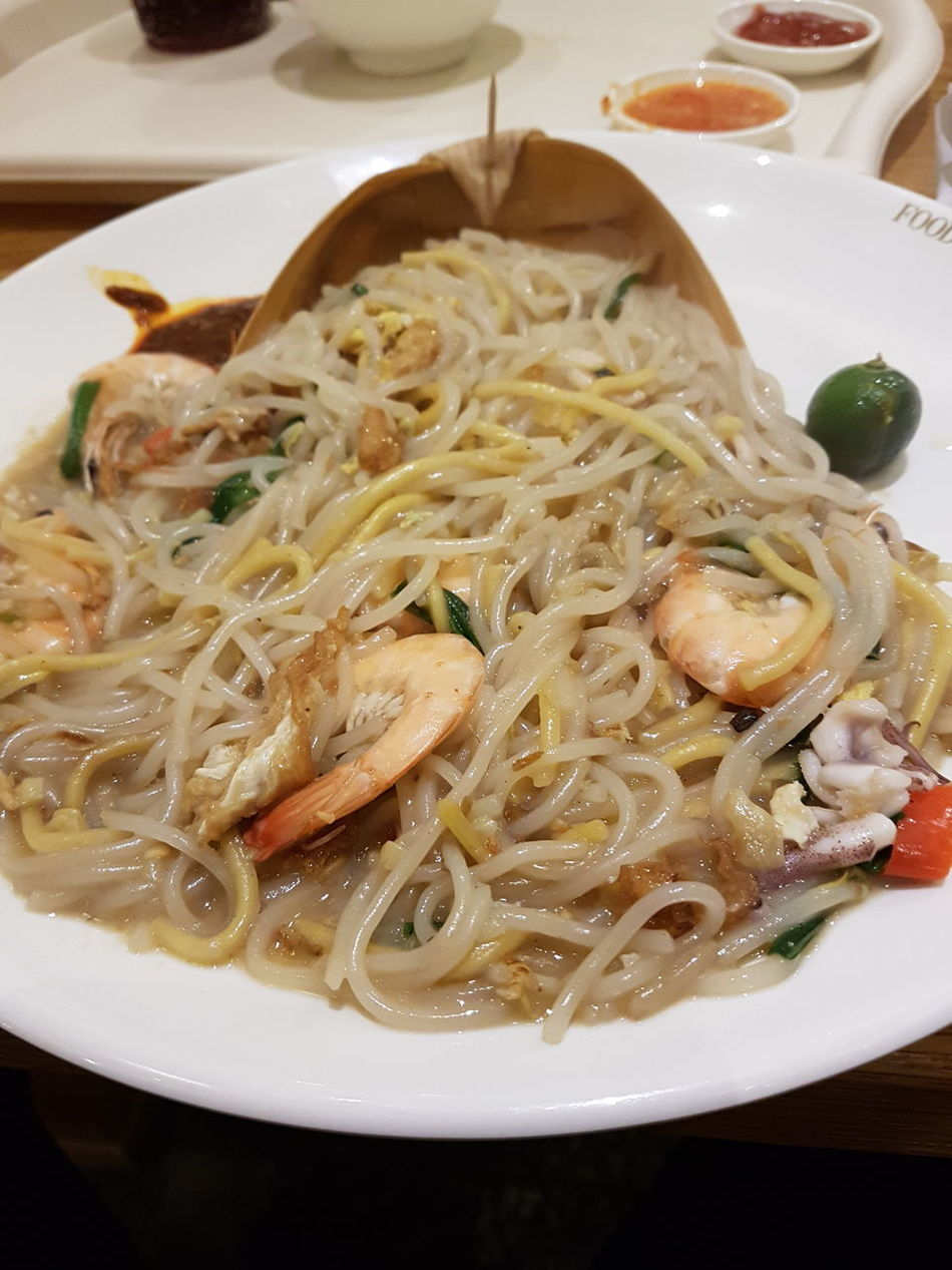Food Food And Drink Ready-to-eat Freshness Indoors  No People Plate Homemade Close-up Hokkien Mee Prawn Noodles