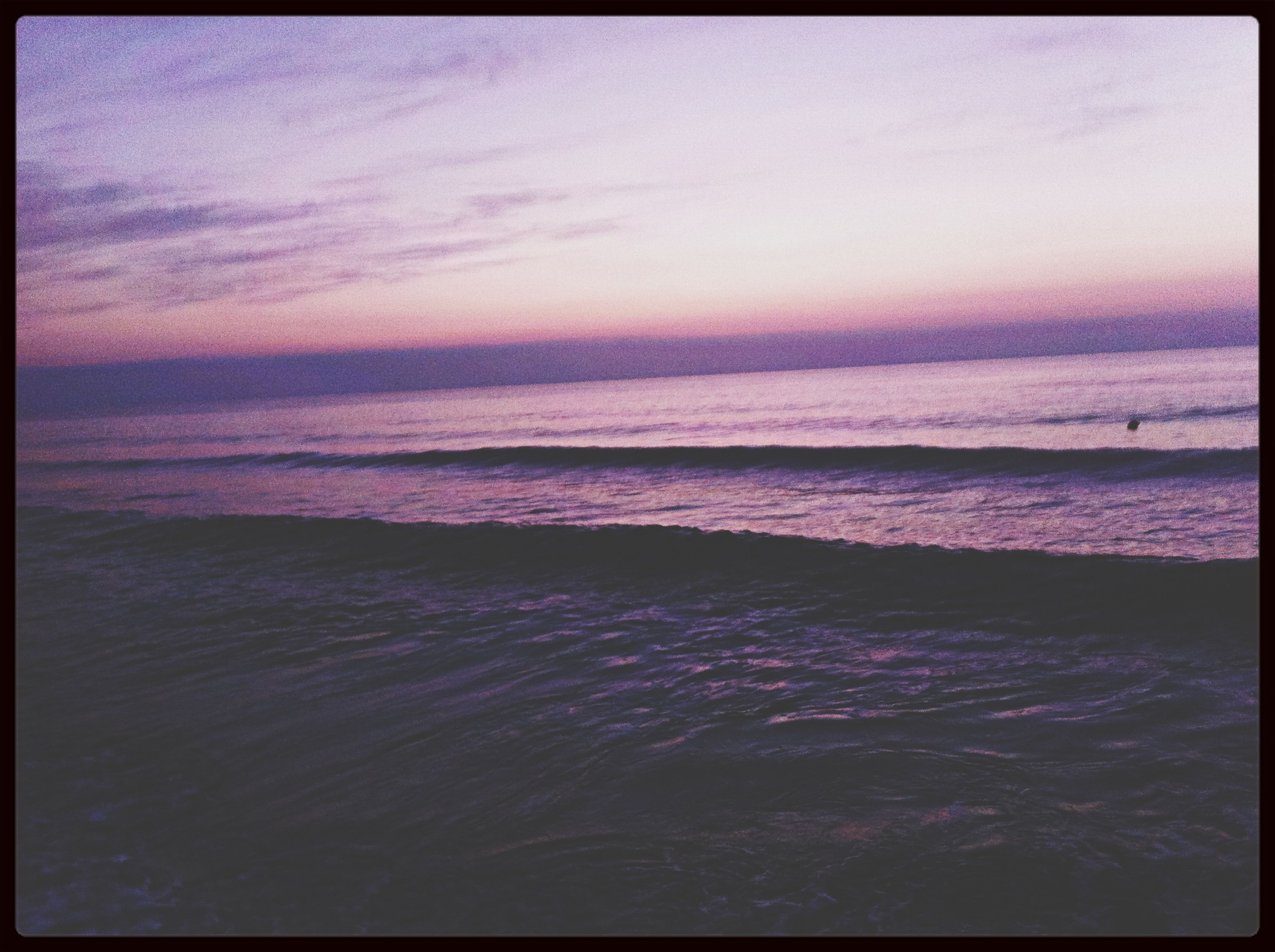 sea, transfer print, horizon over water, water, auto post production filter, beach, scenics, tranquil scene, beauty in nature, tranquility, sky, shore, nature, sunset, wave, idyllic, sand, outdoors, seascape, remote