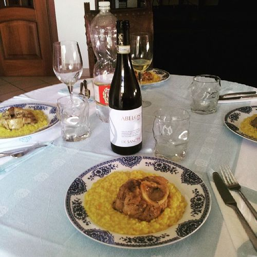 Ossobuco Milanese Milan Bio Wine