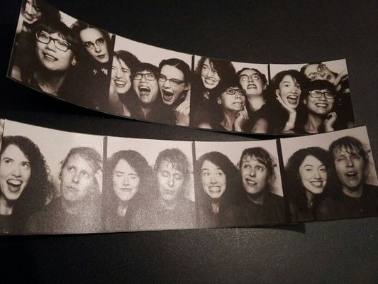 Photoautomat picz from #scxmas12 party by Marie Elliott