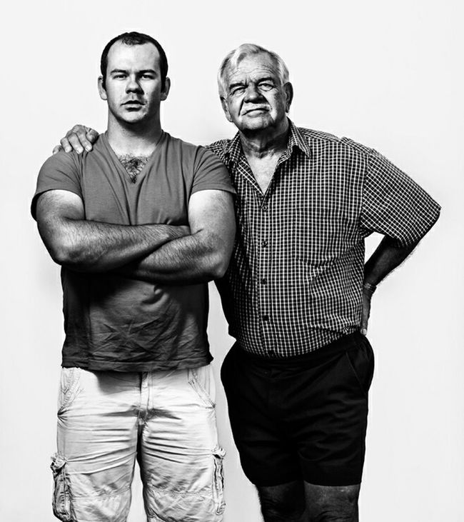 Father & Son Typological Photography The Human Condition Fatherhood  RePicture Masculinity Fatherhood Moments